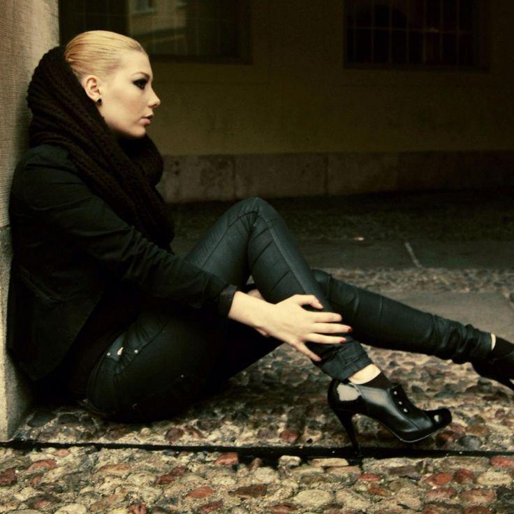 Goth  Model: Linnida Del Barba Photographer: Jeanette Perlie  Location #gamlastan #stockholm