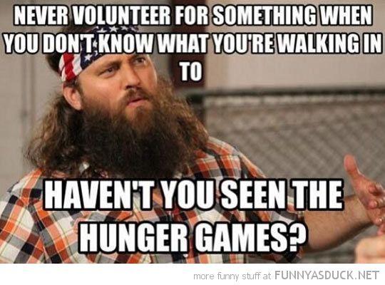Never Volunteer