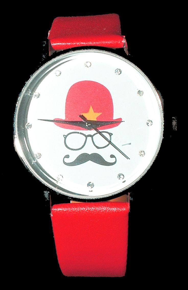 Mustache watch