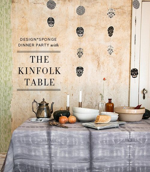 Dinner Party: An Autumnal Meal with The Kinfolk Table