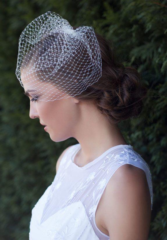 ABBEY Bridal Blusher Veil 2