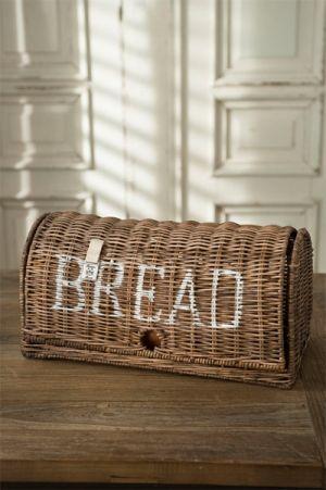 Rustic Rattan Bread Box by Coeny