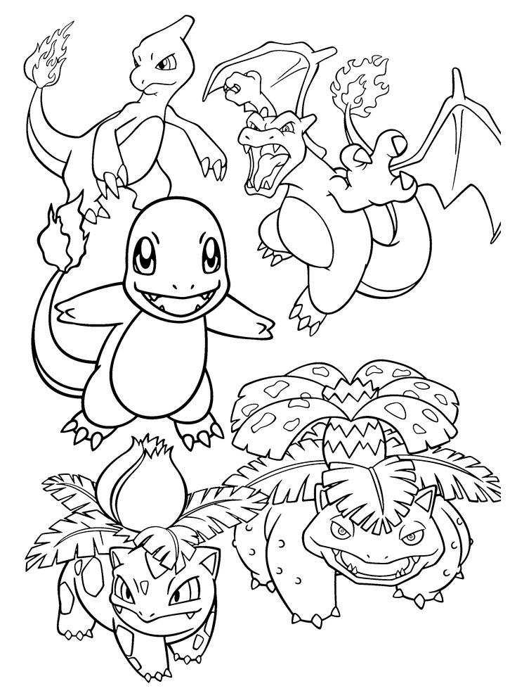 Pokemon Charizard Kleurplaat - Kleurplaten