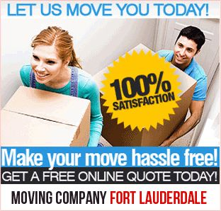 Moving services require a well-planned work flow to make the move easy-going and hassle free. We offer personalized services for local and long distance moves to all our clients in Fort Lauderdale and surrounding areas. Providing 100% satisfactory is our goal and we take our initiatives to fulfill that commitment. We offer minimum rates for our moving services as compared to other local moving companies.