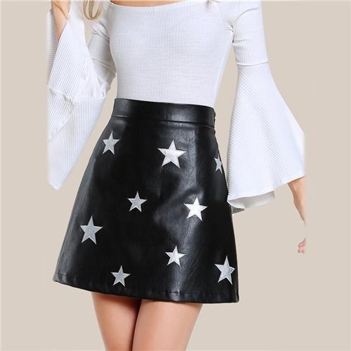 Malia A-Line Star Skirt
