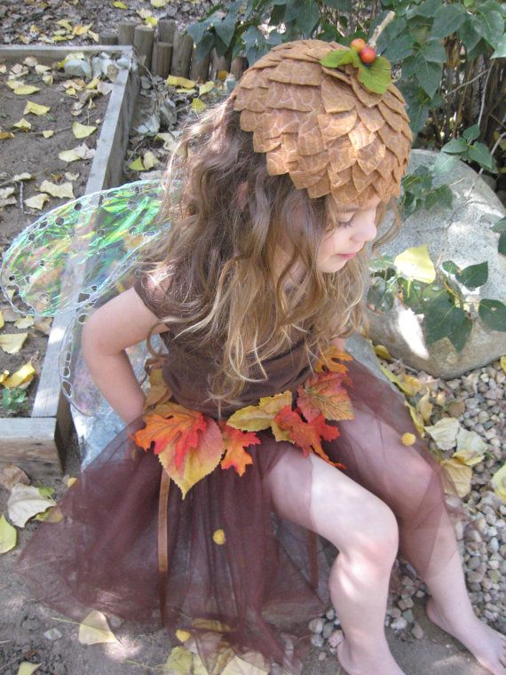 Child's Acorn Cap by tweetjoy on Etsy