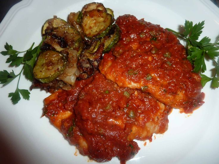 The 25 best veal scallopini ideas on pinterest recipe for veal veal scallopini with tomato caper sauce veal scallopiniveal cutletveal recipesthe photofood network forumfinder Images