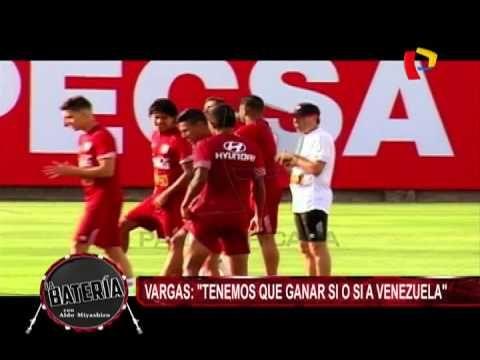 """Selección Peruana: Juan Vargas a Claudio Pizarro, """"sólo haces goles en Alemania""""  Eliminatorias 2018 ."""
