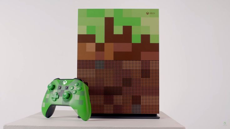 You'll probably either love or hate this Minecraft limited edition Xbox One S: The direction technology aesthetic usually heads is toward