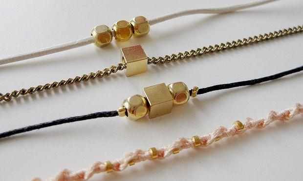 Armbänder für die Bridesmaids
