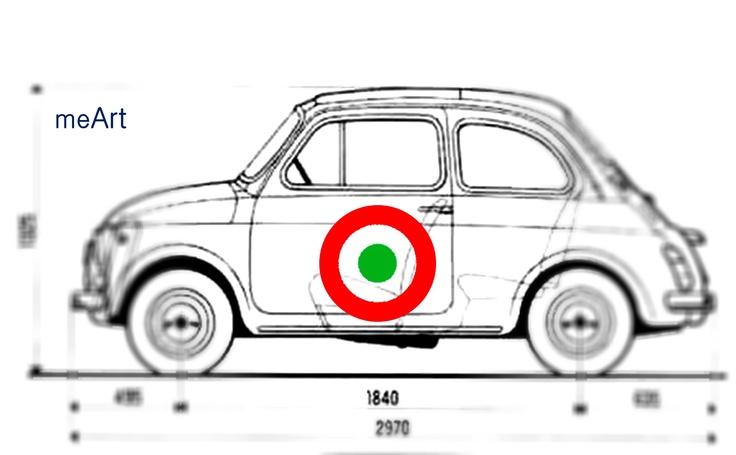 Fiat 500 (1957) custom