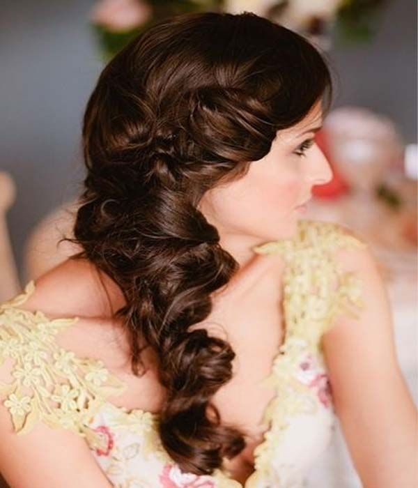 Twisted Braid Bridal Hairdo