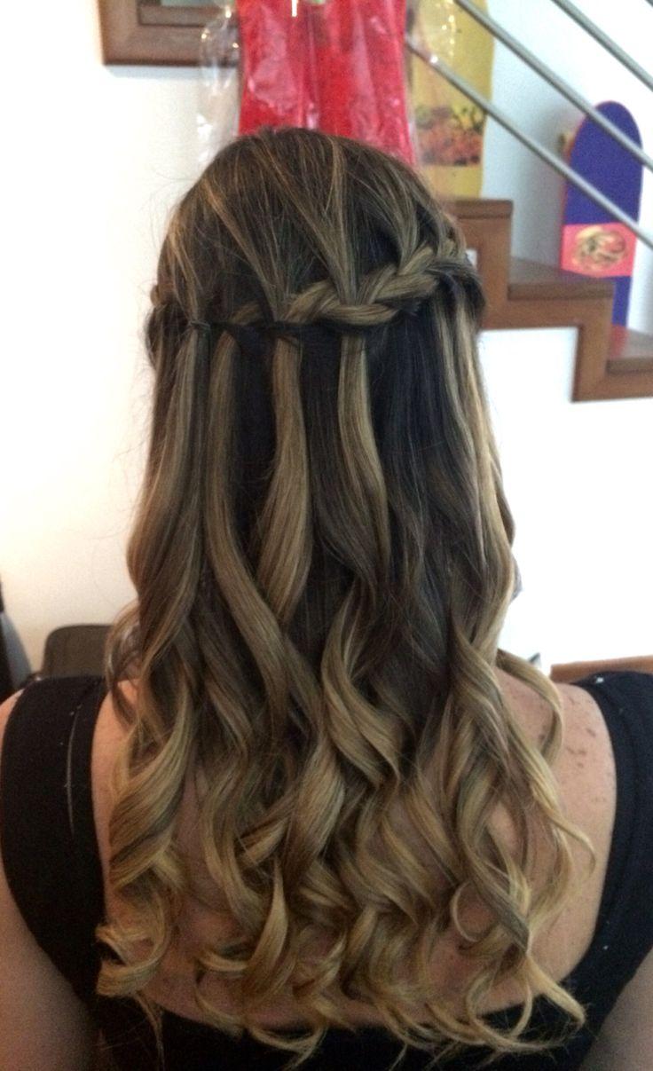 M s de 25 ideas fant sticas sobre pelo formal suelto en - Peinados fiesta faciles ...