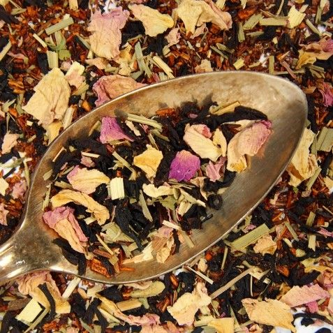 "Portland ""Rose City"" Organic Rose Chai Tea Blend"