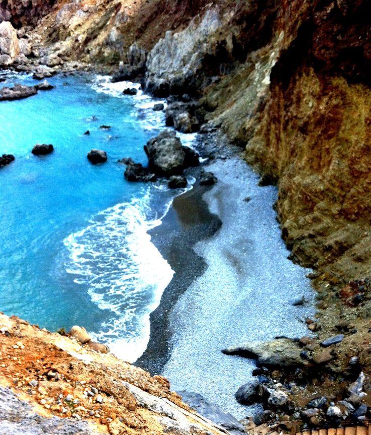 bay Agios Nikitas, Libyan Sea, Crete