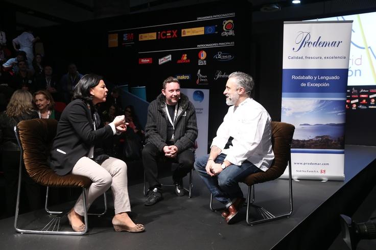 Martes 22 de Enero. 20 minutos con Albert Adrià Madrid Fusión 2013 #MFM13