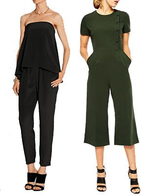 Classic Black Jumpsuits Summer Wedding Guests Outfits - see more at onefabday.com