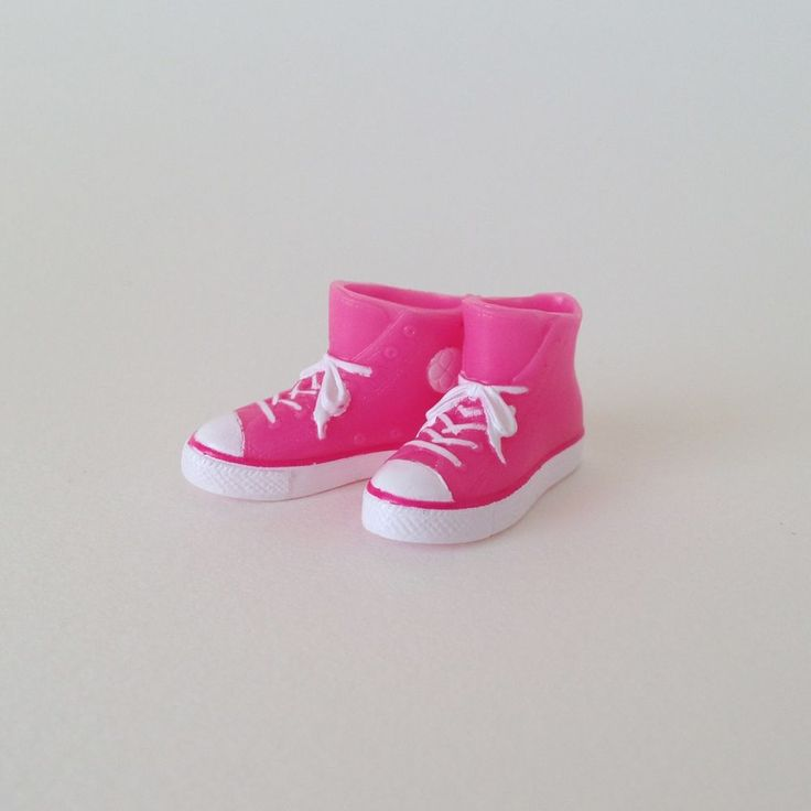 RARE Takara Blythe Doll Stock Shoes - Pink Converse Boots Shoes #Takara #ClothingAccessories