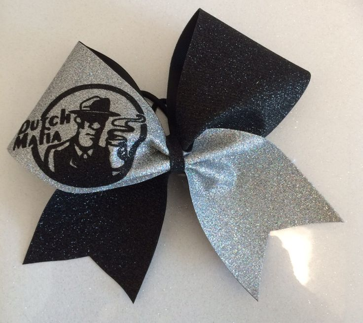 A personal favorite from my Etsy shop https://www.etsy.com/listing/399087109/dutch-bros-cheer-bow-3