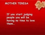 essays mother teresa