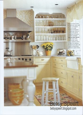 White Kitchen Yellow Cabinets best 25+ yellow cabinets ideas on pinterest | yellow kitchen