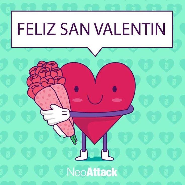 Creatividad san valentín neoattack