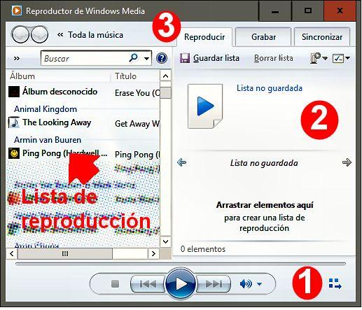 Reproductor multimedia Windows 10