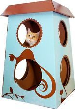NEW The Refined Feline Catemporary Cat Castle Small