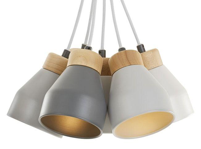 Albert, Cluster Pendant Lamp Grey Tones