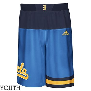 UCLA Store - *UCLA Youth Helmet Script Basketball Shorts - Blue