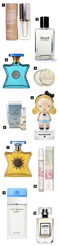 top 10 best summer perfumes