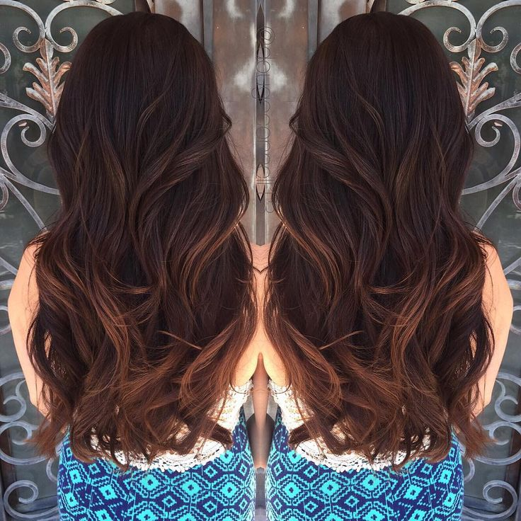 17 Best Images About Dyed Hair On Pinterest Brown Hair