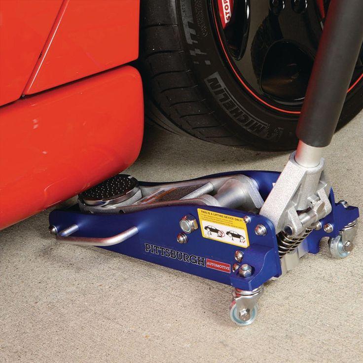 Pittsburgh 1.5 Ton Aluminum Racing Floor Jack With Rapid