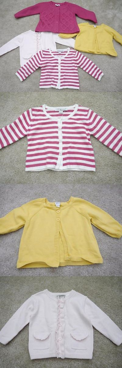 Tops and T-Shirts 147218: New Lot Of 4 Baby Girl Cardigans Sweaters Nordstrom Brands Size 3-12 Months -> BUY IT NOW ONLY: $39.99 on eBay!