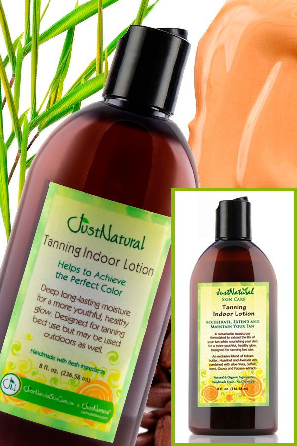 Tanning Indoor Lotion | Helps & Support Skin | Just Nutritive