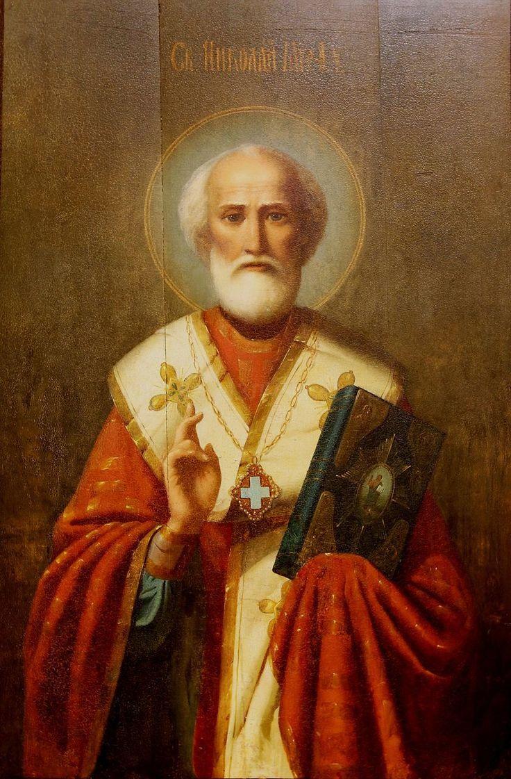 Cвятитель Николай Чудотворец, архиепископ Мир Ликийских