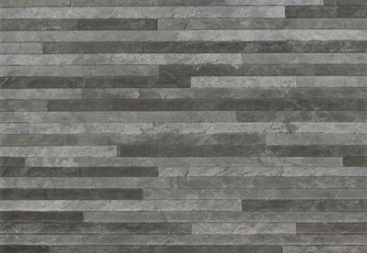 Brix Stratum Anthracite Wall Tile Roomset Stone Cladding