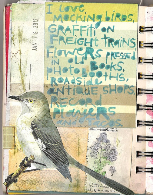 This year, I'm setting out to make & share 366 art journal pages. Visit my blog at www.coreymarie.com