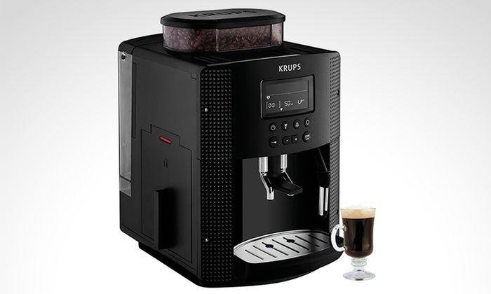 Groupon Shopping: Cafetera automática con molinillo marca Krups. Incluye despacho