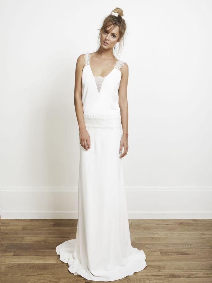 de RIME ARODAKY #Robedemariée #mariage #mariée #blanc