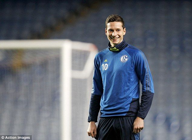 Draxler's £37m move to Arsenal in doubt as player is ruled out until March with ruptured tendon
