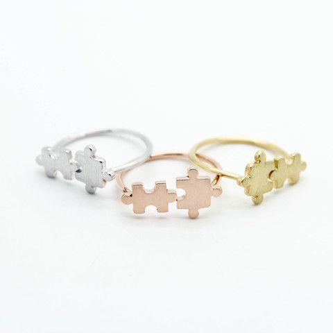 Puzzle pieces ring – Imsmistyle.