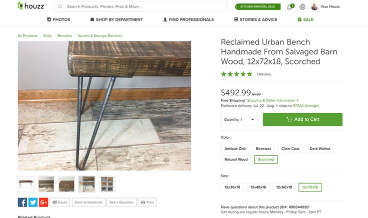https://www.houzz.com/photos/49654499/Reclaimed-Urban-Bench-Handmade-From-Salvaged-Barn-Wood-12x72x18-Scorched-rustic-accent-and-storage-benches