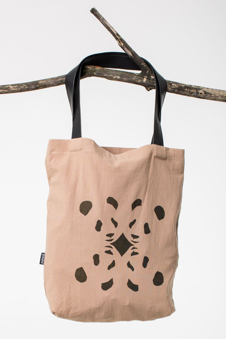 canvas bag with pandas
