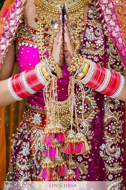 Gold Kalira Image courtesy by Lin and Jirsa Photography. Discover more beautiful images at www.shaadibelles.com #jewelry