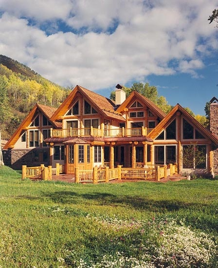 1000 images about amazing log homes on pinterest log cabin homes wooden houses and cabin. Black Bedroom Furniture Sets. Home Design Ideas