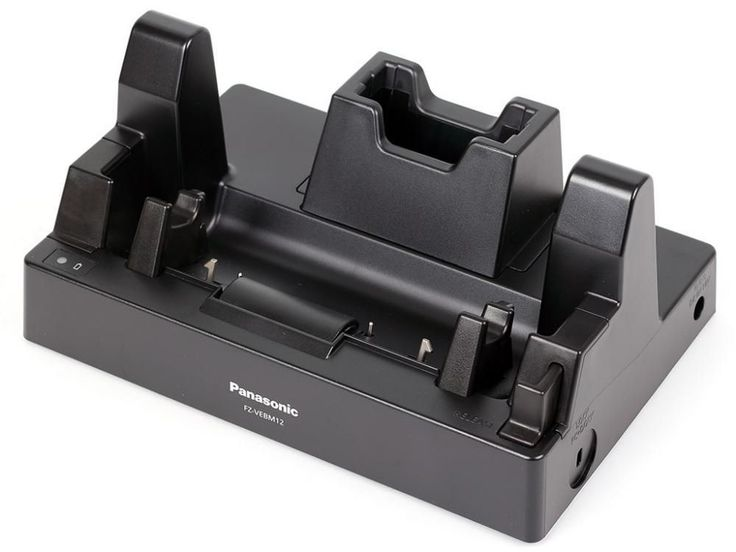 Panasonic Toughpad FZ-M1 Docking Station FZ-VEBM12U with 1-Bay Battery Charger Model No FZ-VEBM12U, is available to purchase online at Pan-Toughbooks £120+VAT