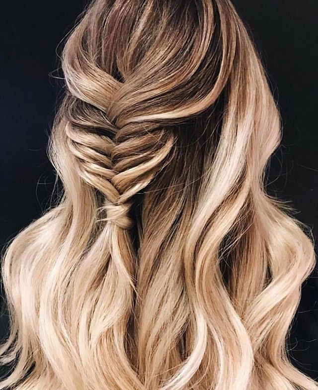 52 Trendy Chic Braided Hairstyle Ideas You Should Try Long Hair Styles Hair Styles Fish Tail Braid