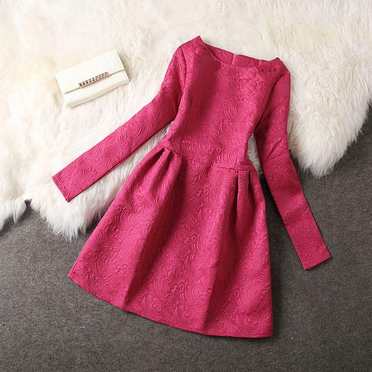 Mini vestido de manga larga, s xxxl otoño e invierno para ' s del temperamento delgado princesa para mujer del tutú del vestido # XU20 en Vestidos de Moda y Complementos Mujer en AliExpress.com | Alibaba Group