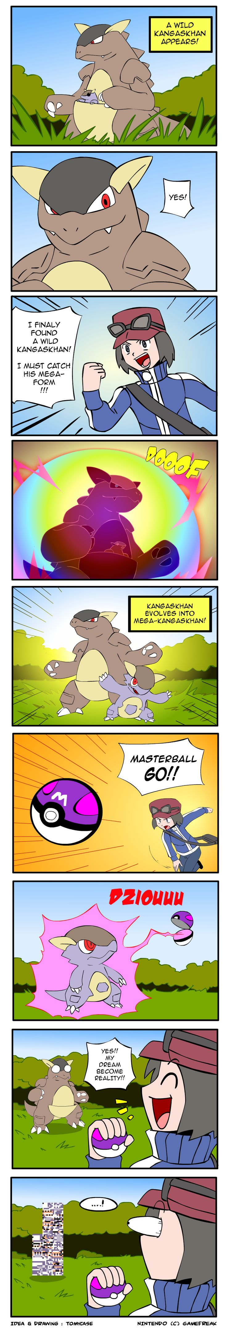 Pokemon X/Y - Mega-Kangaskhan Error